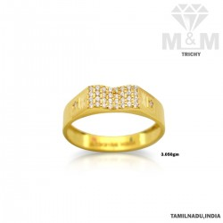 Fabled Gold Casting Stone Ring