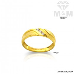 Ubiquitous Gold Casting Ring