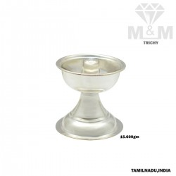 Ancient Silver Jothi Vilakku