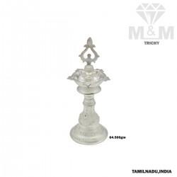 Modern Silver Kuthu Vilakku...