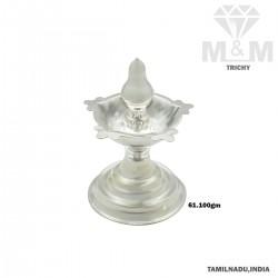 Legendary Silver Kuthu Vilakku (Set Available)
