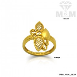 Colorful Gold Casting Ring