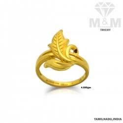 Delightful Gold Casting Ring