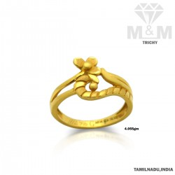 Divine Gold Casting Ring