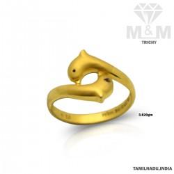 Embellish Gold Casting Ring