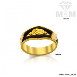 Exotic Gold Elephant Hair Ring