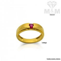 Gentle Gold Casting Ring