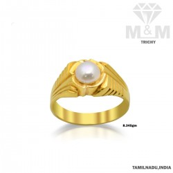 Glorious Gold Pearl Ring