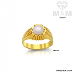 Gorgeous Gold Pearl Ring