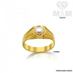 Incredible Gold Pearl Ring