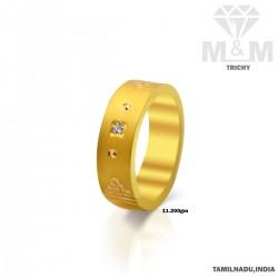 Lush Gold Casting Wedding Ring