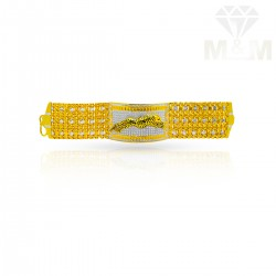 Exquisite Gold Fancy Bracelet