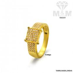 Serene Gold Casting Stone Ring