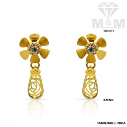 Majestic Gold Casting Earring