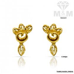 Popular Gold Casting Earring