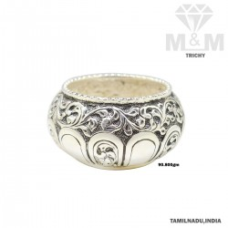 Dazzling Silver Antique Bowl