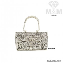 Niceness Silver Antique Bag