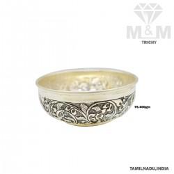 Virtuous Silver Antique Bowl
