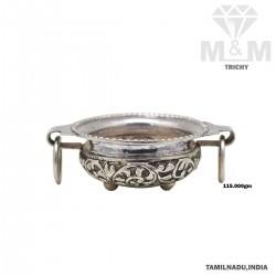 Captivate Silver Antique Uruli