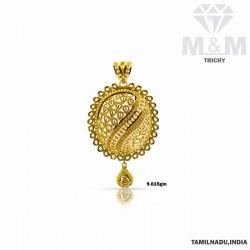Far Famed Gold Fancy Pendant