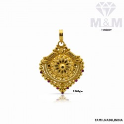 Glorious Gold Fancy Pendant