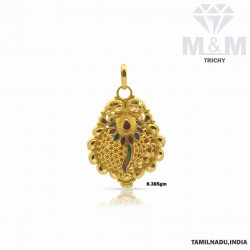 Tradition Gold Fancy Pendant