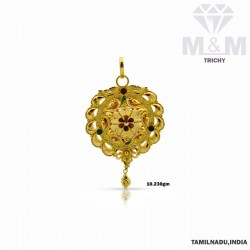 Ancient Gold Fancy Pendant