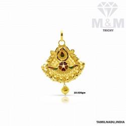 Classical Gold Fancy Pendant
