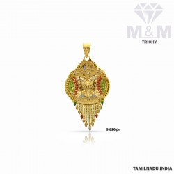 Fame Gold Fancy Pendant