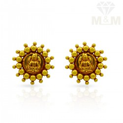 Impressive Gold Antique Stud