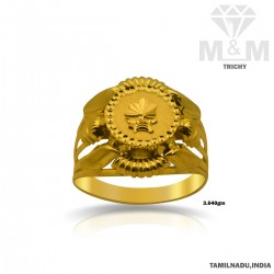 Sparkling Gold Fancy Ring