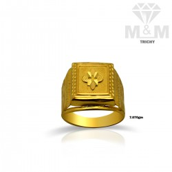 Luxurious Gold Fancy Ring
