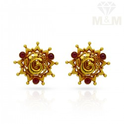 Amiable Gold Antique Stud