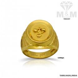 Prosperous Gold Fancy Ring