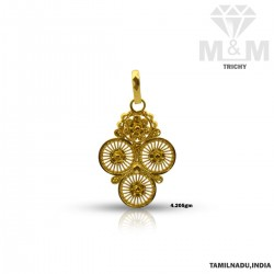 Stupendous Gold Fancy Pendant