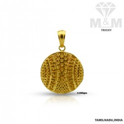 Wonderfully Gold Fancy Pendant