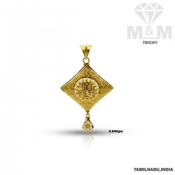 Beguiling Gold Fancy Pendant
