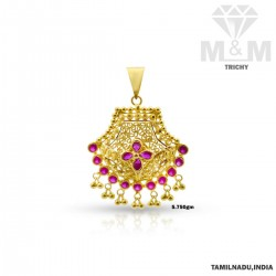 Sumptous Gold Fancy Pendant
