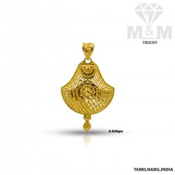 Excellence  Gold Fancy Pendant
