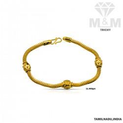 Stunning Gold Casting Bracelet