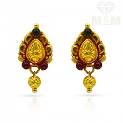 Attractive Gold Antique Stud