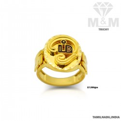 Canny Gold Casting Om Ring