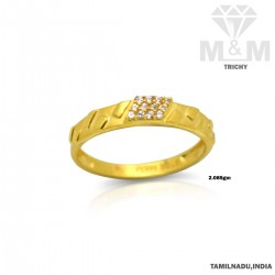 Dandy Gold Casting Stone Ring