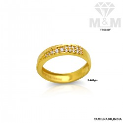 Dreamy Gold Casting Stone Ring