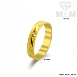 Fine Gold Fancy Wedding Ring