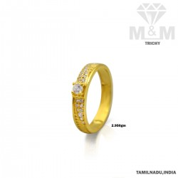 Exquisite Gold Couple Wedding Ring