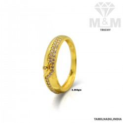 Inspired Gold Couple Wedding Ring
