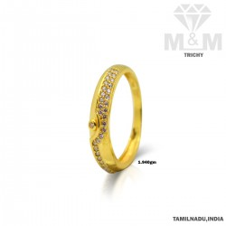 Interesting Gold Couple Wedding Ring