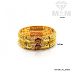 Wondrous Gold Fancy Bangle