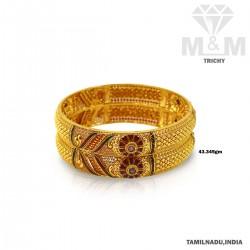 Wonderfully Gold Fancy Bangle